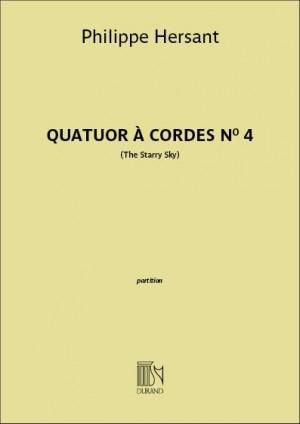 Philippe Hersant: Quatuor à cordes n° 4