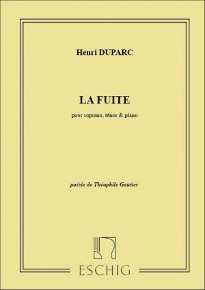 Duparc: La Fuite