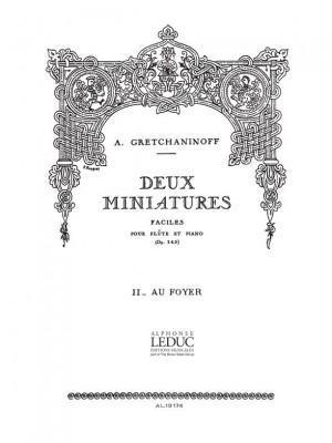 Alexander Grechaninov: Suite miniature Op.145, No.8 - Adieux de Manon