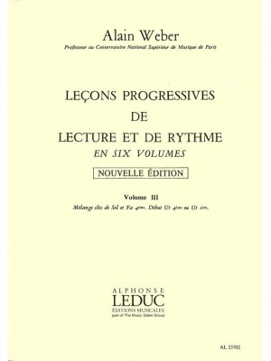 Alain Weber: Progressive Lessons in Theory and Rhythm