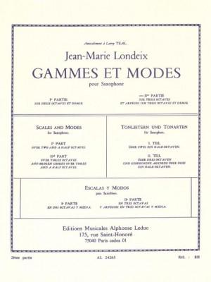 Jean-Marie Londeix: Gammes et Modes Vol.2