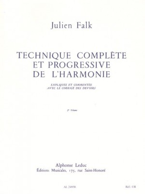 Julien Falk: Compl. and progr. technique of the harmony -Vol. 2