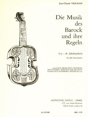 Jean-Claude Veilhan: Die Musik des Barock und ihre Regeln