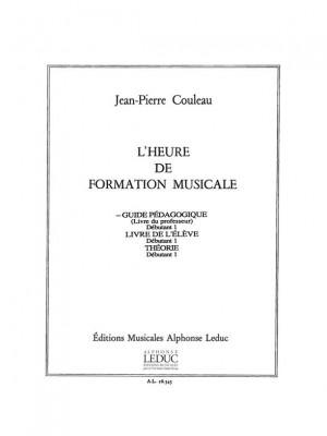 Jean-Pierre Couleau: L'heure de formation musicale - Débutant 1 - Prof.