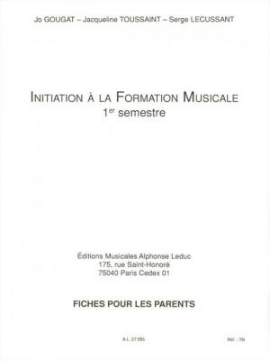 Jo Gougat_Jacqueline Toussaint: Initiation to Musical Studies (1)