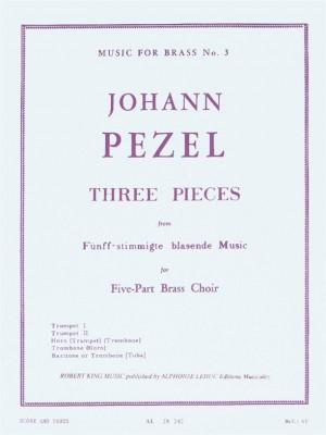 Pezel: 3 Pieces-5 Part Brass Music