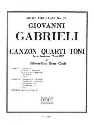 Giovanni Gabrieli: Giovanni Gabrieli: Canzon quarti Toni