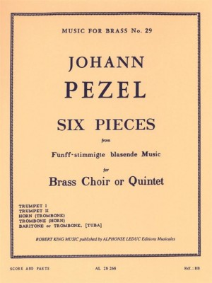Pezel: 6 Pieces-5 Part Brass Music