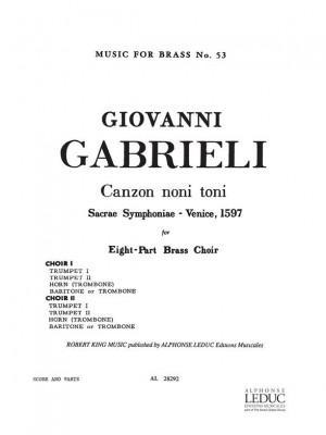 Andrea Gabrieli: Canzon Noni Toni