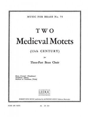 Robert King: Two Medieval Motets