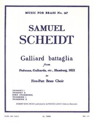 Scheidt: Galliard Battaglia