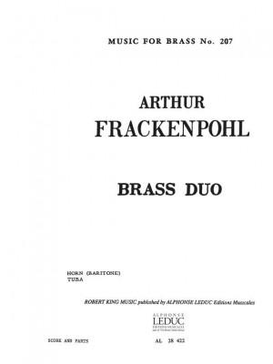 Arthur R. Frackenpohl: Brass Duo