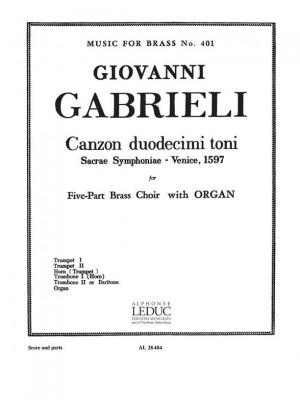 Andrea Gabrieli: Canzon Duodecimi Toni