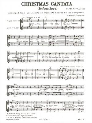 Daniel Pinkham: Christmas Cantata
