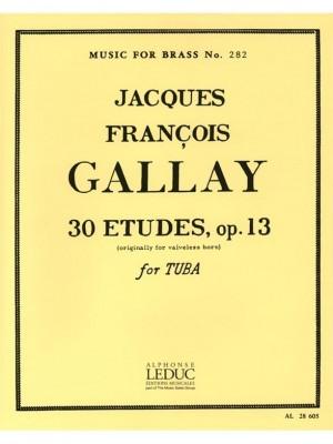 Jacques-François Gallay: 30 Studies Op13