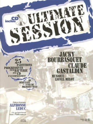 Jacky Bourbasquet: Ultimate Session for Drums