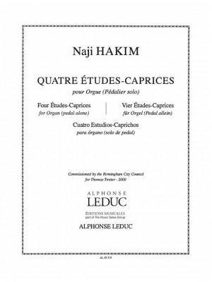 Naji Hakim: 4 Etudes-Caprice