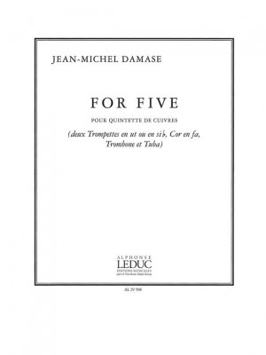 Jean-Michel Damase: For Five