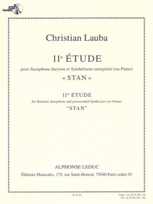 Christian Lauba: Christian Lauba: etude No. 11 - Stan