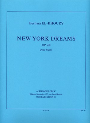 Bechara El-Khoury: New York Dreams Op.68