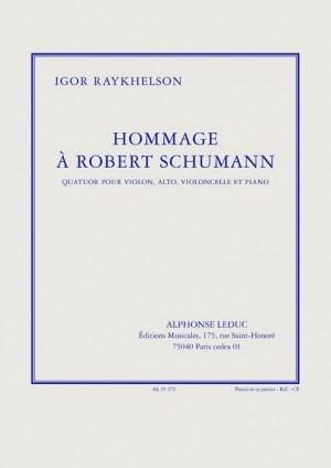 Igor Raykhelson: Igor Raykhelson: Hommage a Robert Schumann