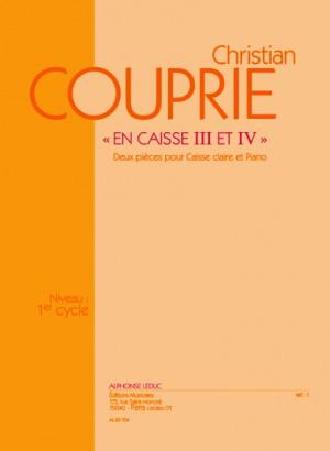 Couprie: En Caisse Iii Et Iv