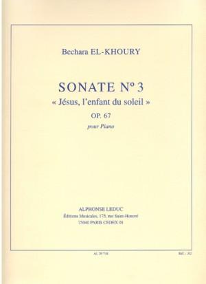 Bechara El-Khoury: Sonate 3 Op.67