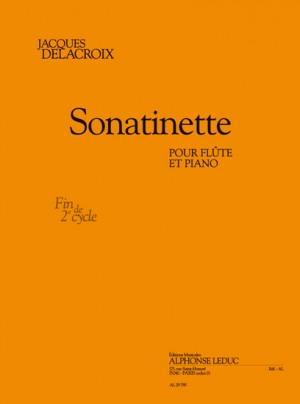 Delacroix: Sonatinette pour flûte et piano