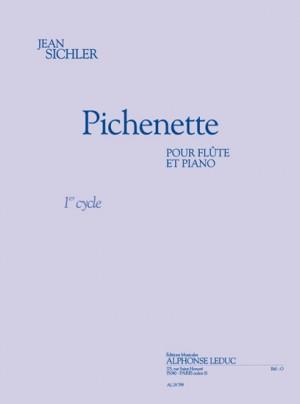Sichler: Pichnette (1'20'') (cycle 1) pour flûte et piano