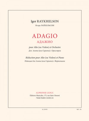 Raykhelson: Adagio