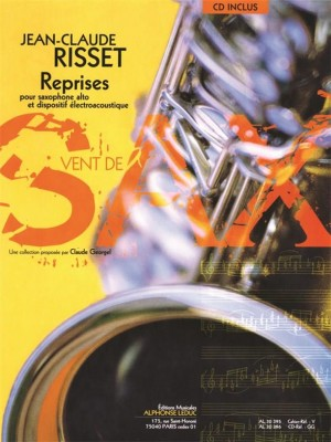 Jean-Claude Risset: Reprises for Alto Saxophone and Electro