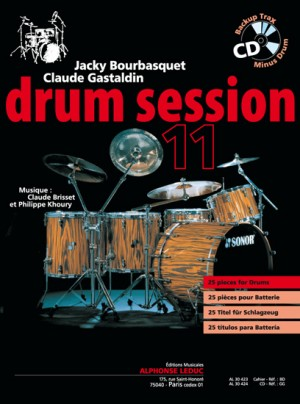 Claude Gastaldin_Claude Brisset_Jacky Bourbasquet: Drum Session 11