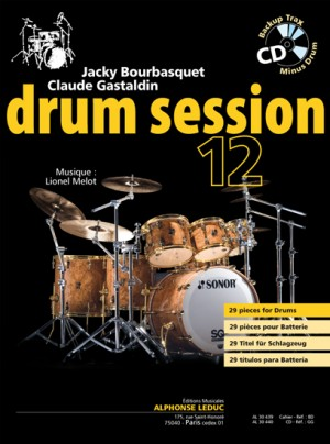 Claude Gastaldin_Jacky Bourbasquet: Drum Session 12
