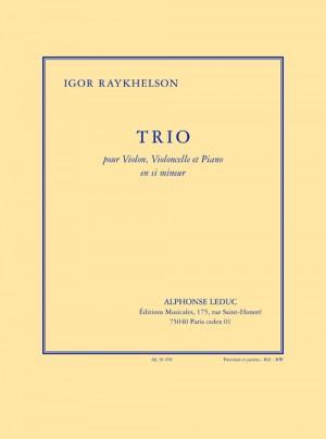 Raykhelson: Trio en b mineur pour violon, violoncelle et piano