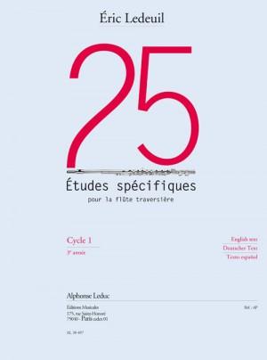 ric Ledeuil_Éric Ledeuil: 25 Etudes Spécifiques Pour la Flûte Traversière