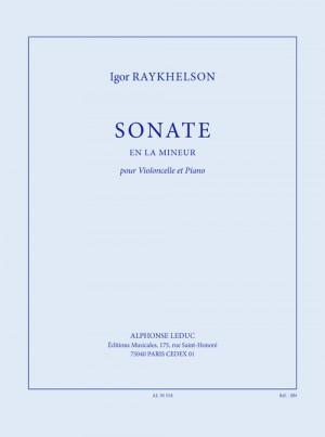 Raykhelson: Sonate en la mineur pour violoncelle et piano
