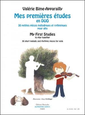 Valerie Bime-Apparailly: Mes Premières études en duo - My First Studies