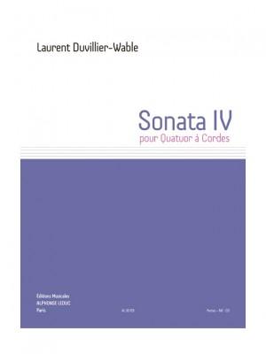 Laurent Duvillier-Wable: Sonater IV
