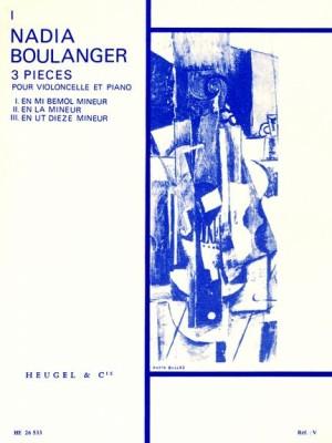 Nadia Boulanger: Trois Pièces No.1 In E Flat Minor