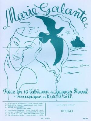 Kurt Weill: Kurt Weill/Jacques Deval: Marie Galante