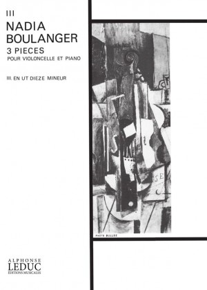 Nadia Boulanger: Trois Pièces No.3 In C Sharp Minor