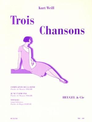 Kurt Weill: 3 Chansons