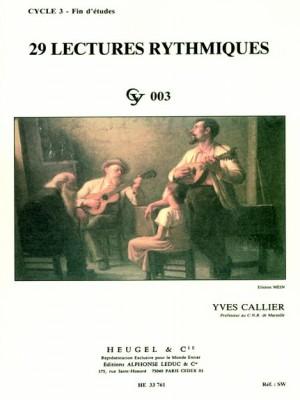 Yves Callier: 29 Rhythmic Exercises