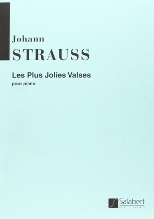 Strauss: Les Plus Jolies Valses Piano Original