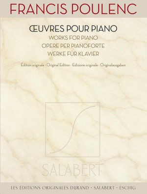 Francis Poulenc: Works for Piano Product Image