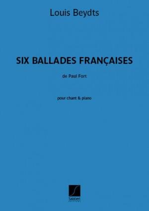 Louis Beydts: Six Ballades françaises
