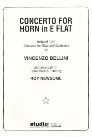 Bellini: Concerto for Horn in Eb with piano