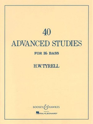 Tyrell, H W: Advanced Studies for Bb Bass