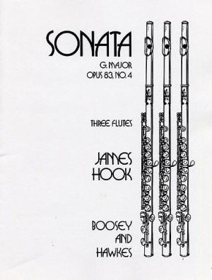 Hook, J: Sonata in G Major op. 83/4