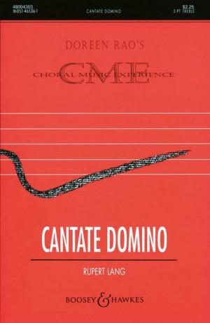 Lang, R: Cantate Domino